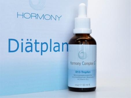 Hormony Complex G® B12-Tropfen, hCG Diät - 21 Tage Stoffwechselkur